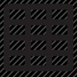 grid, thumbnails icon