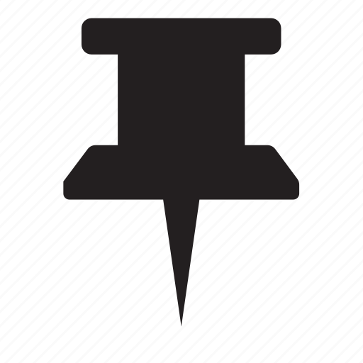 knob, pin icon