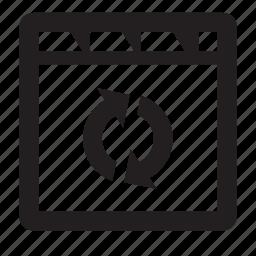 refresh, site icon