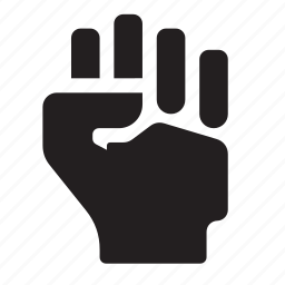 fist, hand icon