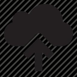 cloud, upload icon