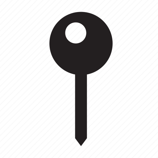 geo, location, pin, pointer icon
