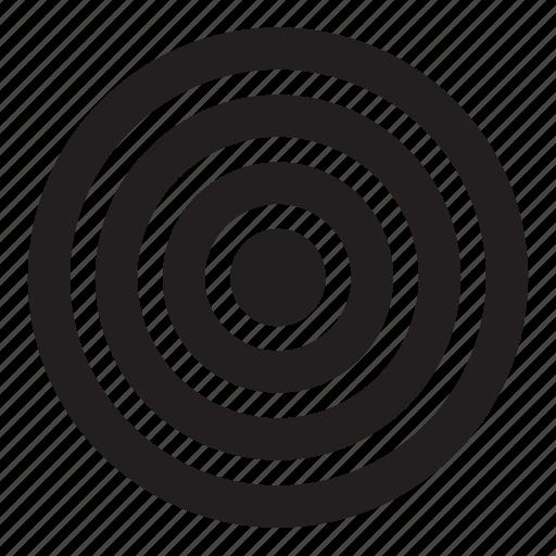 pointer, radio icon