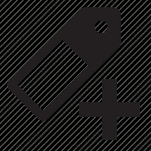 set, tag icon
