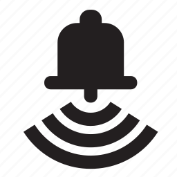 bell, ring icon