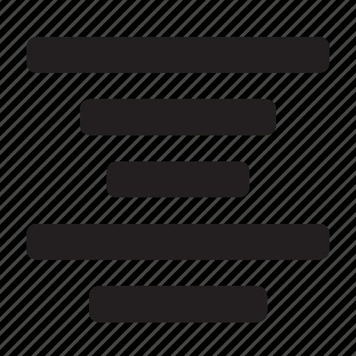 align, center, text icon