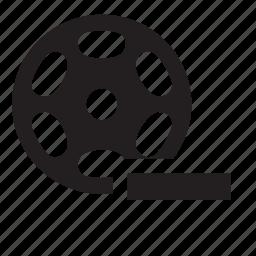 remove, video icon