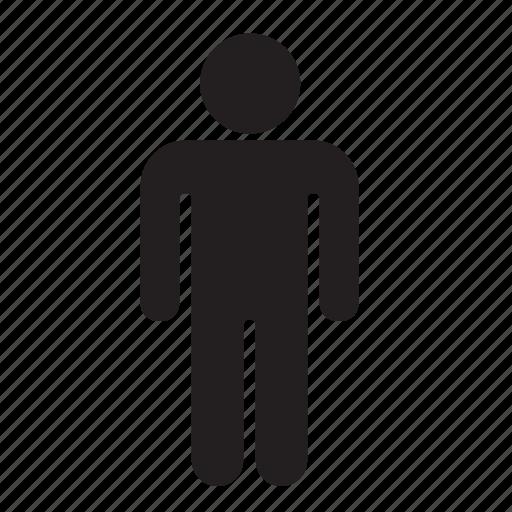human, male, man icon