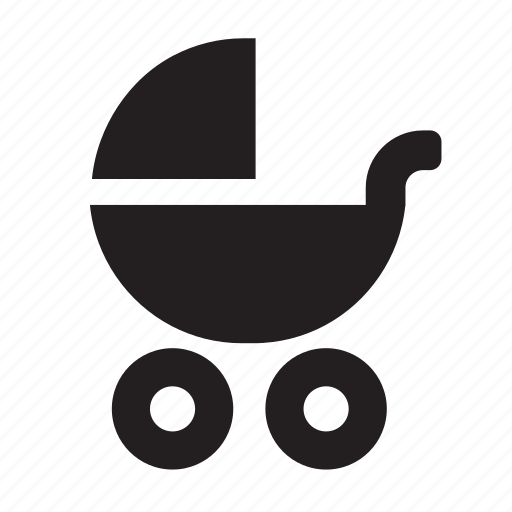 buggy, pram icon