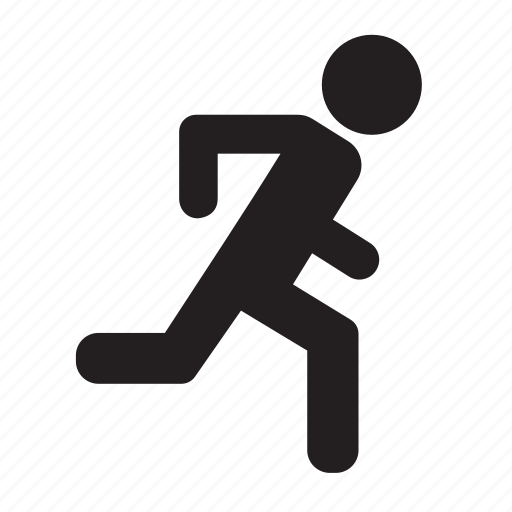 exit, run icon