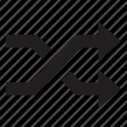 random, shuffle icon