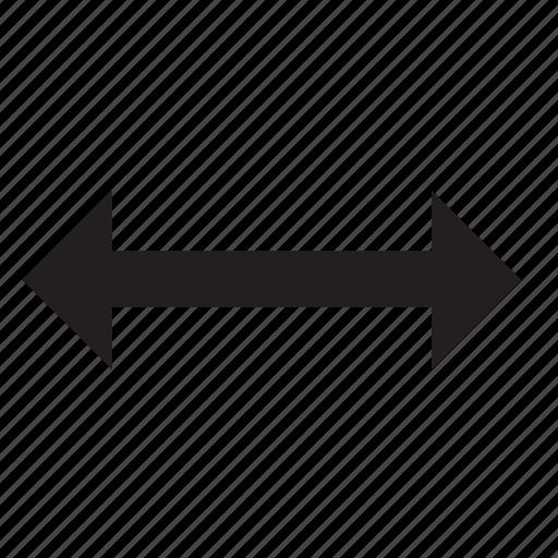 horizontal, swap icon