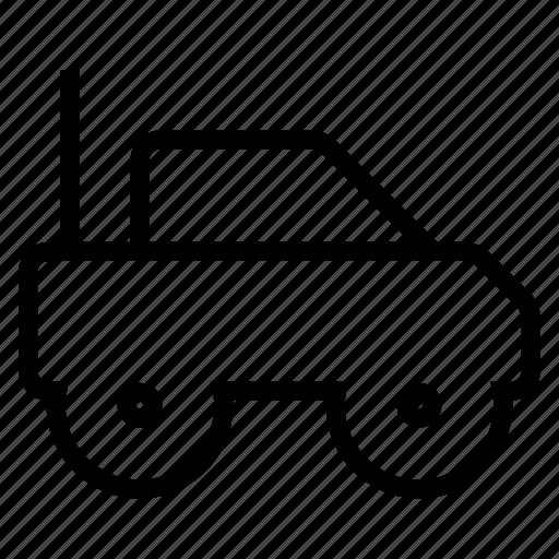 car, radiocontrolled, rc icon