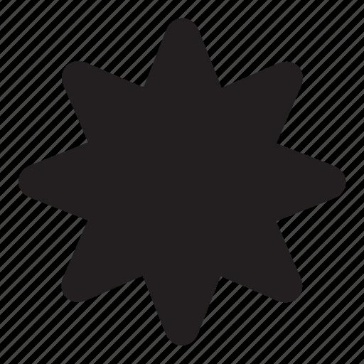 octagonal, shape icon