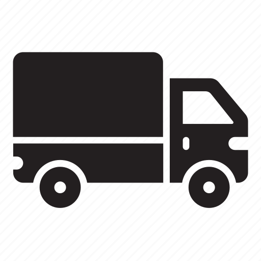 lorry, truck icon