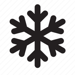 cold, frost, snowflake icon