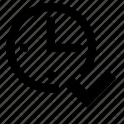 count, finish icon
