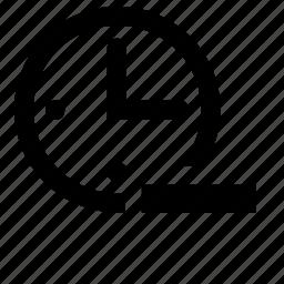 count, remove icon