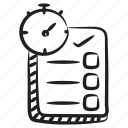 deadline, task, target time, task deadline, time duration, time limit icon