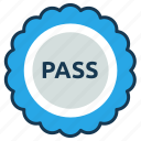 education, elearning, grade, pass, report, test icon