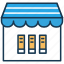 book store, ebooks, education, elearning, online books, online courses icon