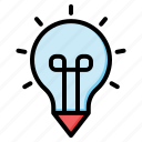 bulb, idea, light, lamp