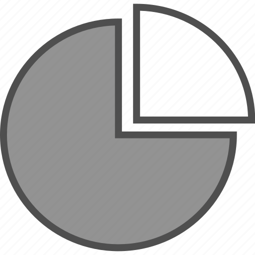 chart, graph, pie chart, portion icon