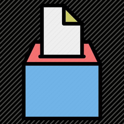 casting, elections, political, survey, vote, voting icon