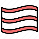 editor, flag, marker, notification, pin icon