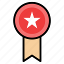 award, badge, prize, rank, rating, star icon