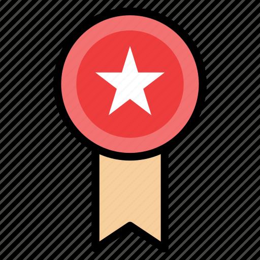 award, badge, prize, rank, rating, star icon