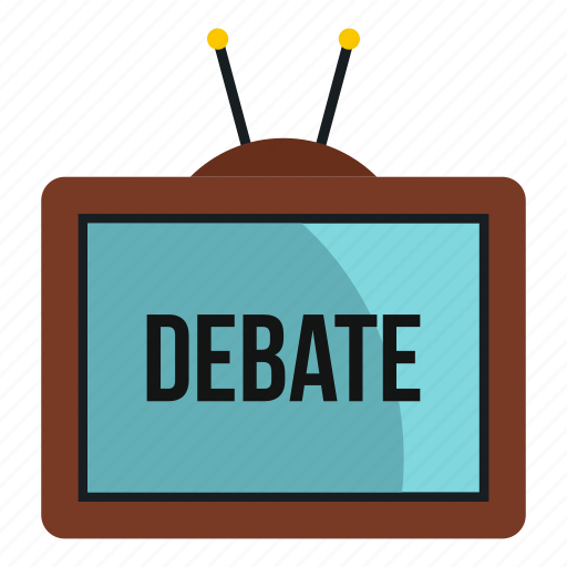 debate, news, people, technology, television, tv, view icon