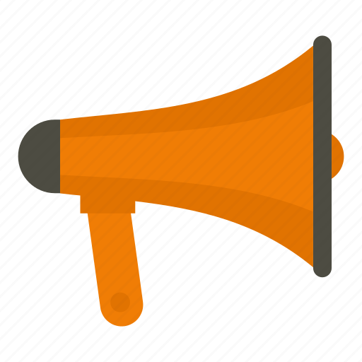 advertising, announcement, business, concept, megaphone, message, speaker icon