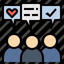 attitude, fan, idea, opinion, poll icon
