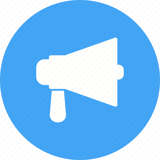 Announce, announcement, attention, audio, loud, megaphone, speaker icon - Download on Iconfinder
