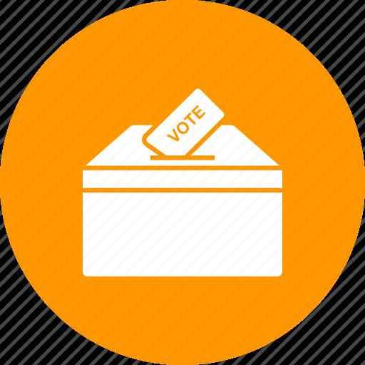 ballot, box, election, politics, poll, vote, voting icon