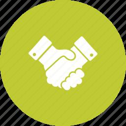 campaign, handshake, people, politics, success, vote icon