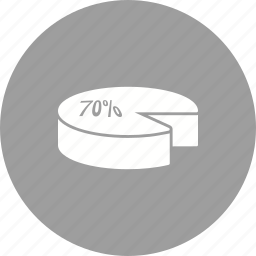 chart, competition, graph, information, party, pie, position icon