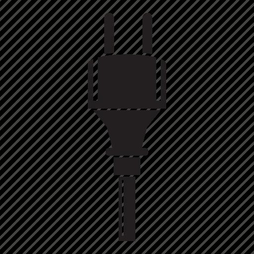 cable, connetor, electric, plug icon