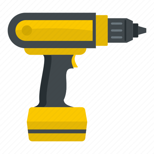 construction, drill, electric, equipment, power, screwdriver, tool icon