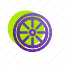 auto, car, tire, transportation, tyre, vehicle, wheel icon