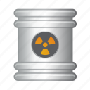 barrel, can, fuel, garbage, nuke icon