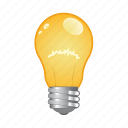 bulb, creative, lamp, light icon