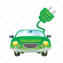 automobile, car, electric, electricity, power, road, vehicle icon