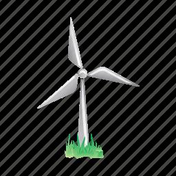 electricity, energy, farm, power, turbine, windmill icon