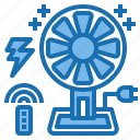 connection, current, electricity, fan, industry, technology, voltage icon