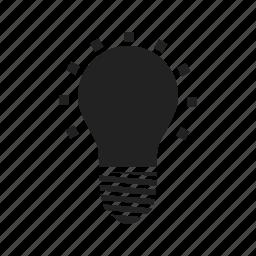 bulb, burst, eco, ecology, energy, illuminate, illumination, light, lightbulb, power icon