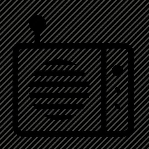 antenna, communication, music, radio, signal icon