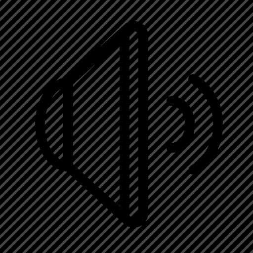 audio, music, speaker, voice, volume icon