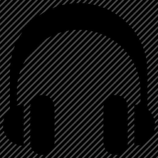 earphone, headphone, headset, listen icon icon